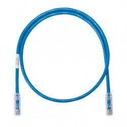 Patch Cord UTP Panduit Netkey Categoria 6 de 0.9 m –( NK6PC3 ) Azul / Blanco / Rojo