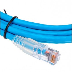 Patch Cord UTP AMP Categoria 6 de 2.1 mts ( 1859247-7 ) Azul / Rojo