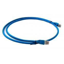 Patch Cord UTP AMP Categoria 6A de 2 mts ( 1711816-2 ) Azul / Rojo