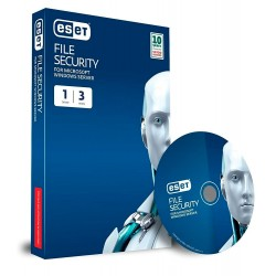 Antivirus Eset File Server, 1 Server, Seguridad completa para servidor de archivos Windows