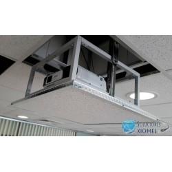 Rack Elevador Electrico Pulsador Control Remoto Proyector