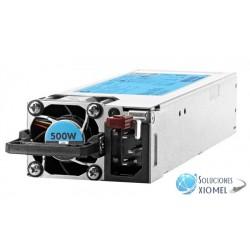 Fuente de alimentación HPE 500W Platinum de Ranura Flexible hot plug (720478-B21)
