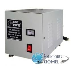 Estabilizador Solido 5kVA PIC-5T-5000AM High Power con Autotransformador Monofásico