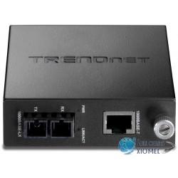 Media Converter fibra SC Monomodo TRENDnet TFC-1000S20 de 1000Base-T a 1000Base-LX