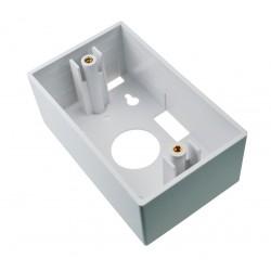Caja Adosable Dexson placa de montaje 2×4 (alta) –Blanco