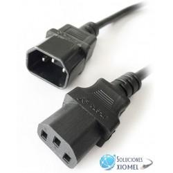 Cable Poder Ups Macho Hembra 3.00 Mts IEC 320 C13 a C14 a UPS