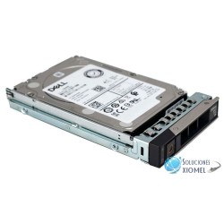 "Disco duro Servidor Dell 900GB SAS 12 Gb/s, 15 000 RPM, 2.5"", 512n ( 400-ATIR )"