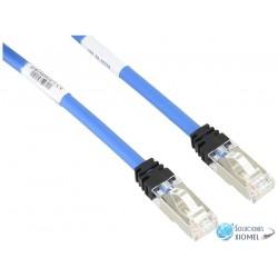 Patch Cord Panduit Categoria 6A S/FTP de 3 mts –( STP6X3MBU ) Azul