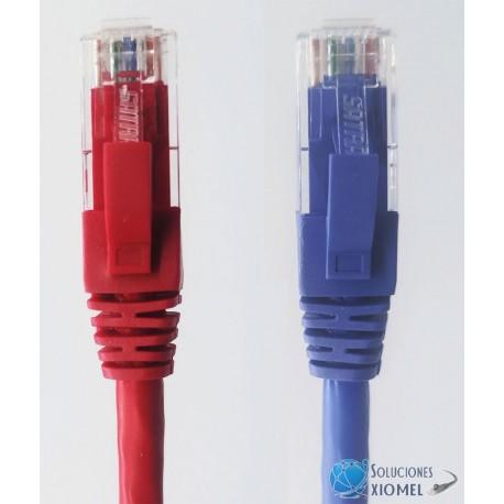 Patch Cord UTP SATRA 1 m 24AWG categoría 6 Certificado ETL ( 010203010X )